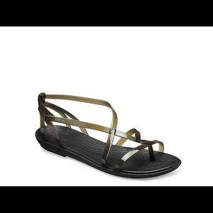 Crocs summer sandals super comfy almost New